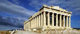 Великий храм Парфенон — дар человечества богам